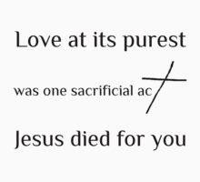 Sacrificial Love Kids Tee