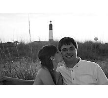 Lighthouse Romance Photographic Print