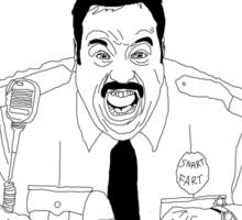 Snart Bart Fan-Art #2 (AKA Jet Fuel Can't Melt Blart Memes) Sticker
