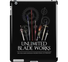 Unlimited Blade Works - Reality Marble iPad Case/Skin