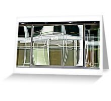 abstracts in glass 2 Greeting Card