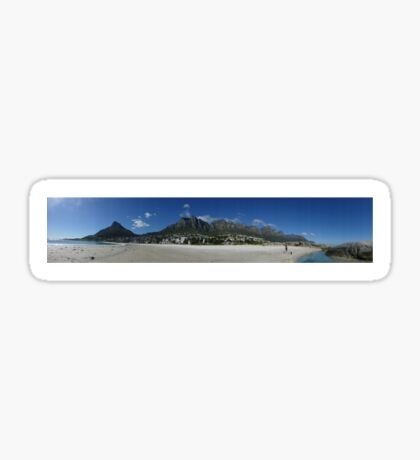 Cape Town, South Africa, Panorama Sticker