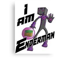 I am Enderman Canvas Print