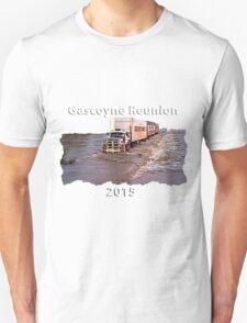 Gascoyne Reunion white writing Unisex T-Shirt