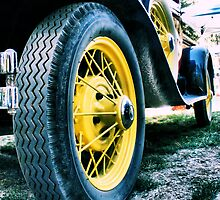 Yellow Tire by NancyC