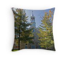 Saint Mary's Catholic Church, Williamstown. 1847. Throw Pillow