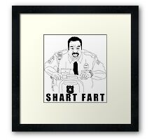 Snart Bart Fan-Art #3 (AKA Shart Fart) Framed Print