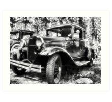 1930's Ford Car Art Print