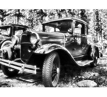 1930's Ford Car Photographic Print