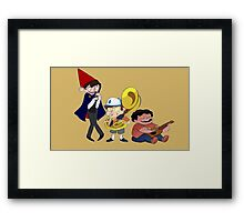Wirt, Bipper, and Steven~ Framed Print