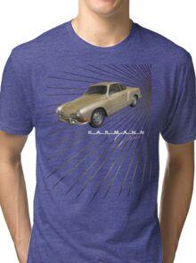 Volkswagen Tee Shirt: Karmann Ghia Tri-blend T-Shirt