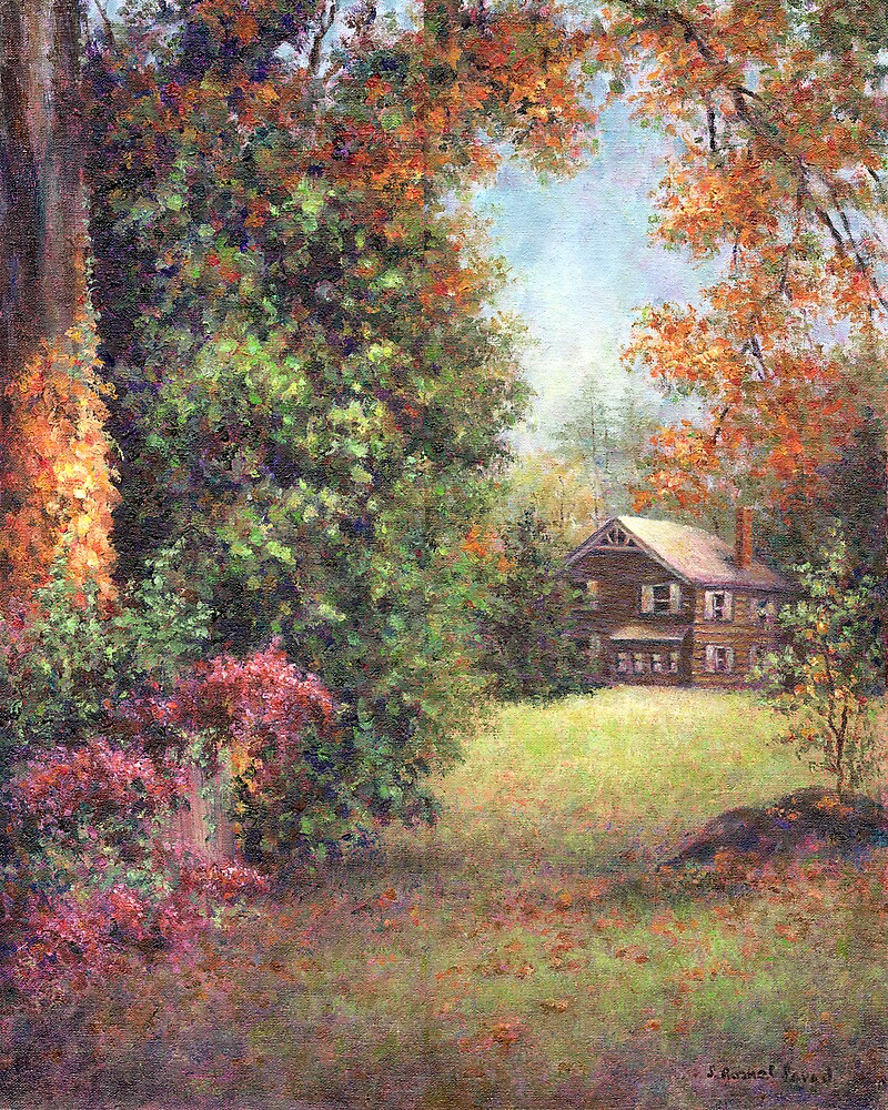 Blazing Ivy by Susan Savad