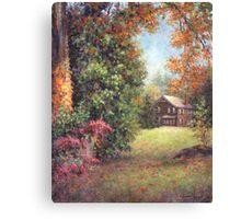 Blazing Ivy Canvas Print