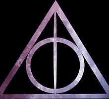 Deathly Hallows: Purple Stars by Serdd