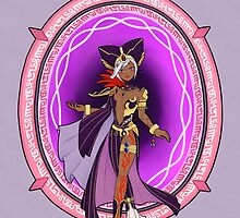 The Black Sorceress by needlemouse