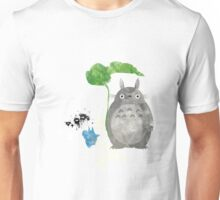 My Neighbor Totoro Giclee Vintage Digital Art  Unisex T-Shirt