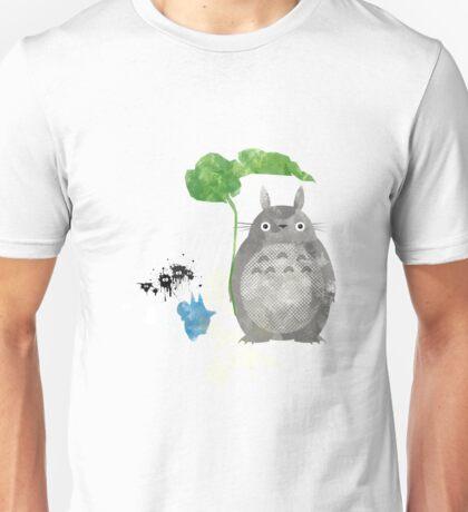 My Neighbor Totoro Giclee Vintage Digital Art  Unisex T-Shirt