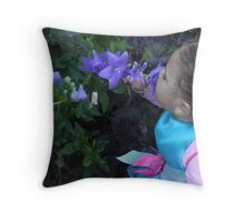 Flowers always bloom Throw Pillow