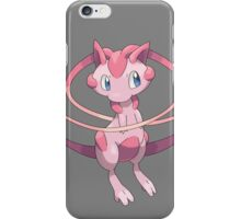 pokemon mega mew anime shirt iPhone Case/Skin