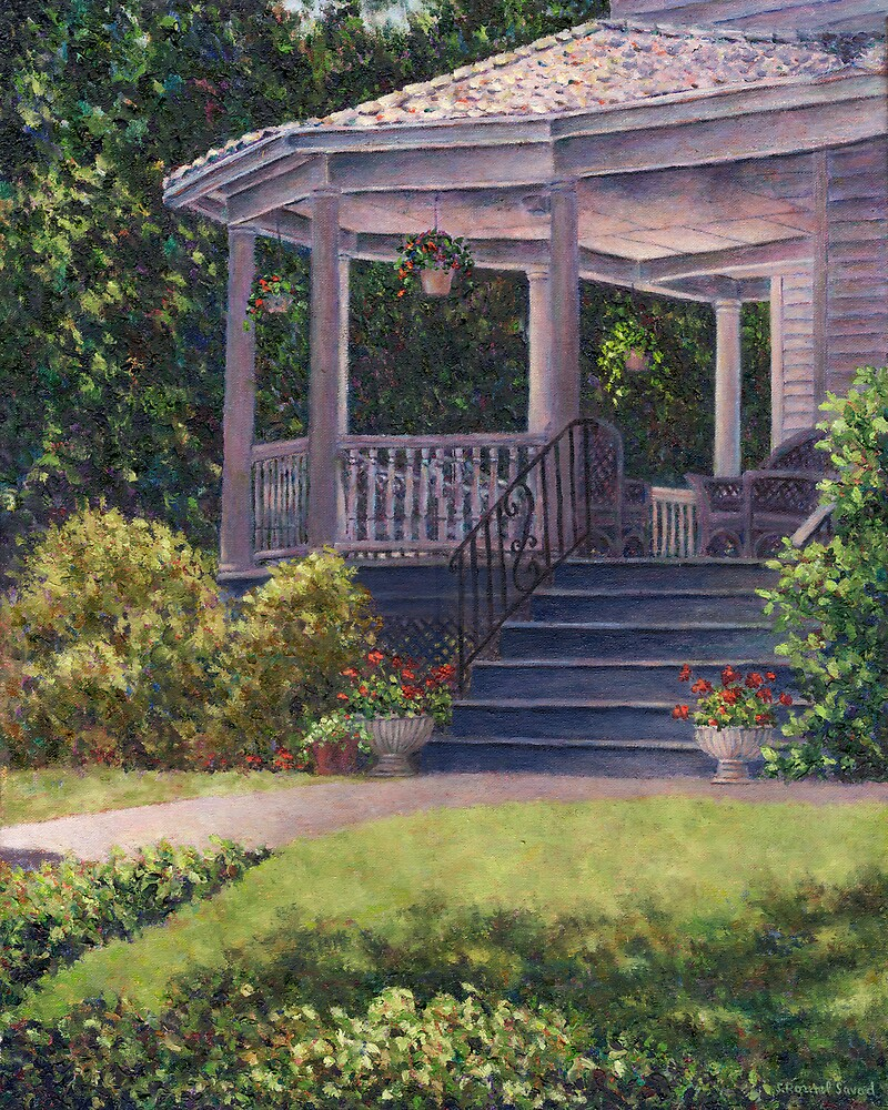 Victorian Porch by Susan Savad