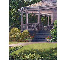 Victorian Porch Photographic Print