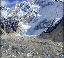 Nepal-IceFall by Kylie Moroney