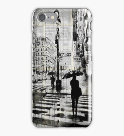 manhattan moment iPhone Case/Skin