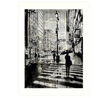 manhattan moment Art Print