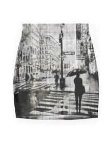 manhattan moment Mini Skirt