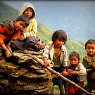 Nepal-Curiousity by Kylie Moroney