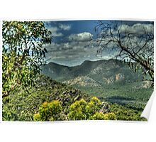 Rugged Mountain Ranges - The Grampians - The HDR Experience Poster