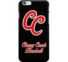 Cherry Creek Baseball Black Case iPhone Case/Skin