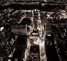 NYC Skyview by Dean Lichkov