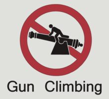 No Gun Climbing by J. Sprink