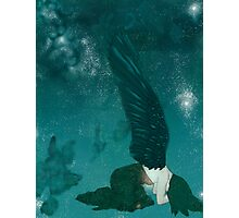 Disappearing Angel Photographic Print