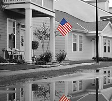 Patriotic Reflection by Sara Wood