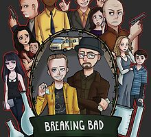 breaking bad by B4CKBONE