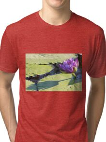 Barre Hellquist Water Lily and its Shadow Tri-blend T-Shirt