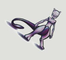 pokemon mewtwo mew anime shirt by JordanReaps