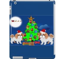 Christmas Pups (1769 Views) iPad Case/Skin