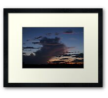 Twilight Sky Framed Print