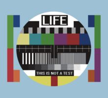 LIFE - This is not a test by nofrillsart