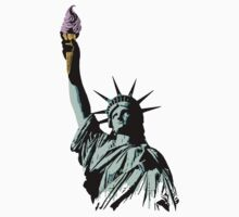 A soft serve of Liberty by nofrillsart