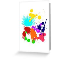 Paint Greeting Card