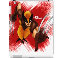 Wolvie - Q's mix iPad Case/Skin