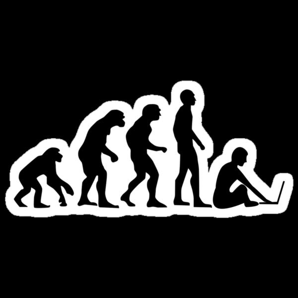 Evolution of Man by Octavio Velazquez