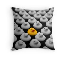 Yellow Ducky Throw Pillow
