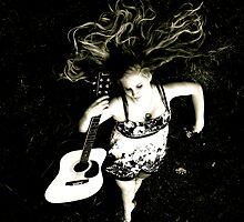 Hair & Guitar by Jhon LeBaron