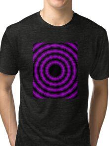 In Circles (Purple Version) Tri-blend T-Shirt