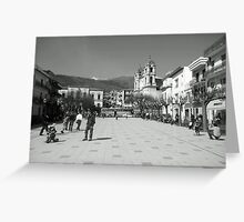 Sicilian Sunday Greeting Card